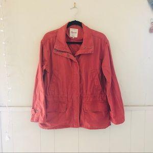Madewell Blush Pink Utility Jacket
